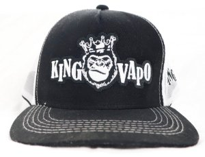 Boné KingVapo bordado