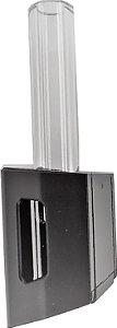 1 canudo em vidro especial borosilicato de 5,5 cm (somente o TUBO) para piteira do vaporizador de ervas zigg da kingvapo