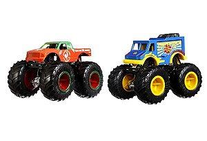 Carrinhos Monster Trucks Portions VS Sriracha (+3 anos) - Hot Wheels - Mattel