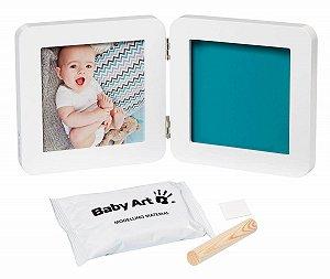 Porta Retrato Duplo com Molde My Touch - Baby Art