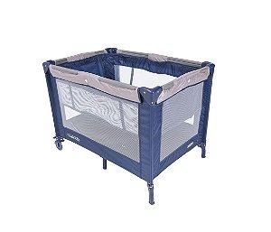Berço-Cercado Desmontável Tata (até 10 kg) - Azul Marinho - Kiddo