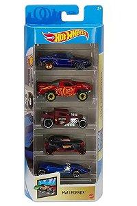 Conjunto de Carros Legends (+3 anos) - Hot Wheels - Mattel