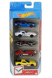Conjunto de Carros Corvette (+3 anos) - Hot Wheels - Mattel