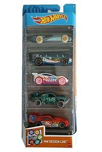 Conjunto de Carros Design Lab (+3 anos) - Hot Wheels - Mattel