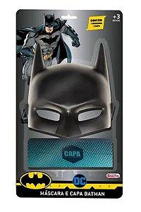 Conjunto de Máscara e Capa do Batman Aventura (+3 anos) - Novabrink