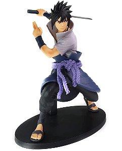 Action Figure - Uchiha Sasuke Sharigan - Naruto Shippuden - Bandai Banpresto