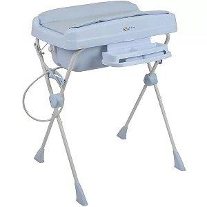 Banheira com Trocador Millenia+ (até 20 kg) - Baby Blue - Burigotto