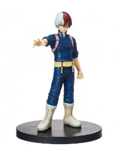 Action Figure - Shoto Todoroki - My Hero Academy - Bandai Banpresto