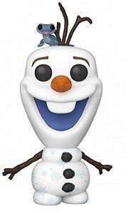 Action Figure - Olaf With Bruni - Frozen - Disney - Pop! Funko