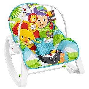 Cadeira de Descanso Macaquinho e Leão (até 18 kg) - Fisher Price
