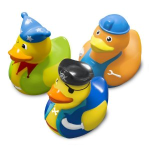 Brinquedos para Banho (+9M) - Patos de Fantasia - Comtac Kids