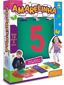 Jogo Amarelinha com 14 Peças (+2 anos) - Nig Brinquedos