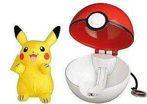 Clip Pokebola e Pikachu (+4 anos) - Pokemon - Sunny Brinquedos