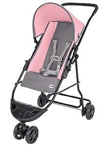 Carrinho de Bebê Yano (até 15 kg) - Rosa - Tutti Baby