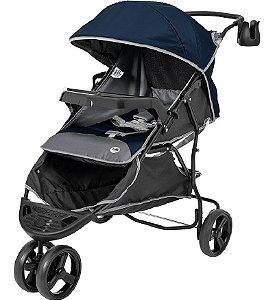 Carrinho de Bebê Evo (até 15 kg) - Azul - Tutti Baby