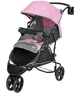 Carrinho de Bebê Evo (até 15 kg) - Rosa - Tutti Baby