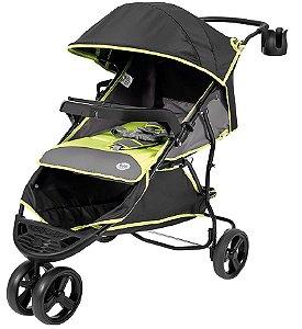 Carrinho de Bebê Evo (até 15 kg) - Preto e Verde - Tutti Baby