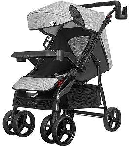 Carrinho de Bebê Nivo (até 15 kg) - Preto - Tutti Baby