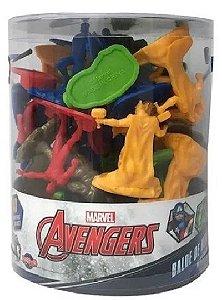 Figuras De Plástico Vingadores 40 Unidades - Toyng