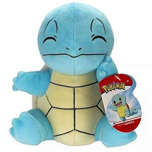 Pelúcia Pokemon Squirtle 20cm - Sunny Brinquedos