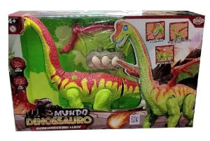 Boneco Dinossauro Bota Ovo Com Som E Luzes - Toyng