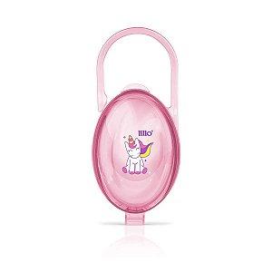 Porta Chupeta Magia Rosa - Lillo