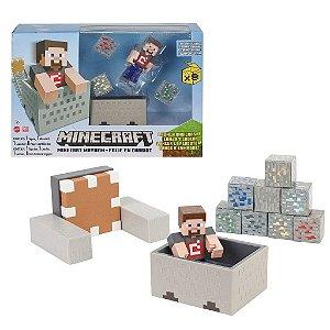 Boneco Minecraft Mayhem Playset - Mattel