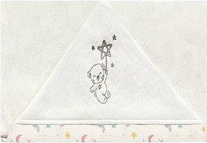 Toalha de Banho Com Capuz - Céu Infinito Rosa - Hug