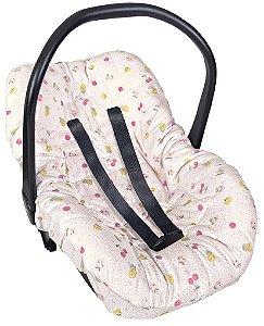 Capa Para Bebê Conforto Frutas Divertidas - Hug