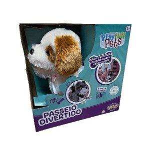 Cachorrinho Playfull Pets Branco- Toyng