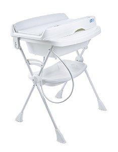 Banheira com Trocador Splash (até 30 kg) - Branco - Burigotto