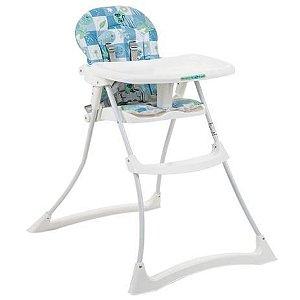 Cadeira de Alimentação Bon Appetit Xl (até 15 kg) - Peixinhos Azul - Burigotto