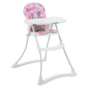 Cadeira de Alimentação Bon Appetit Xl (até 15 kg) - Peixinhos Rosa - Burigotto