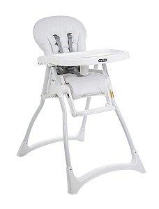 Cadeira De Alimentação Merenda - Branca - Burigotto
