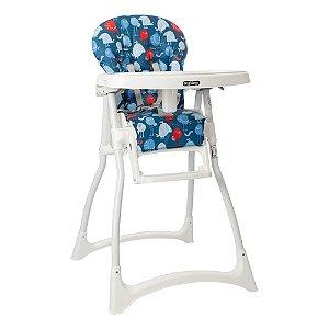Cadeira de Alimentação Merenda (até 15 kg) - Passarinhos Azul - Burigotto