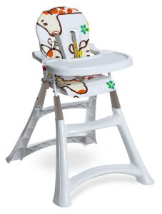 Cadeira Refeicao Alta Premium - Girafas - Galzerano