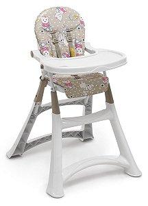 Cadeira Refeicao Alta Premium - Ursinha - Galzerano