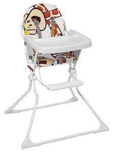 Cadeira De Refeição Alta Standard - Girafas - Galzerano