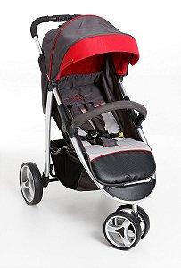 Carrinho de Bebê Apollo (até 15 kg) - Vermelho - Galzerano