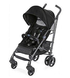 Carrinho De Bebê Lite Way 3 Basic - Jet Black - Chicco