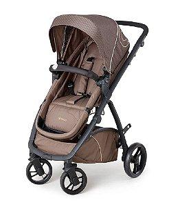 Carrinho de Bebê Maly - Chocolate - Dzieco