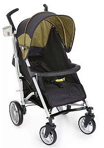 Carrinho Para Bebê Tatus - Preto Verde - Dzieco