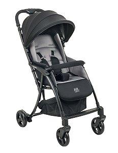 Carrinho De Bebê Air - Gray Black - Burigotto