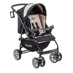 Carrinho De Bebê At6 K - Bege - Burigotto