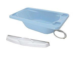 Conjunto Banheira Com Saboneteira - Azul - Galzerano