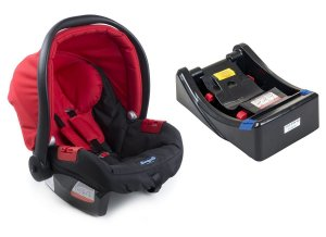 Bebê Conforto Touring Evolution com Base - Red - Burigotto