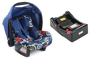 Bebê Conforto Touring Evolution Se com Base - Bike Azul - Burigotto