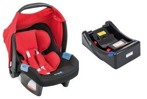 Bebê Conforto Touring Evolution Se com Base - Red - Burigotto