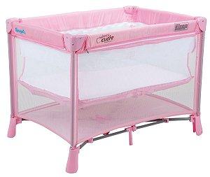 Berço Portátil New Berço Cuore - Pink - Burigotto