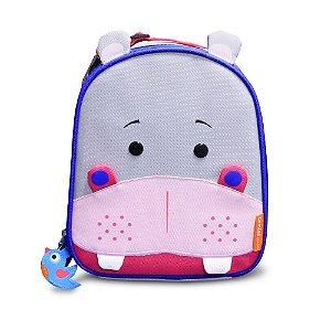 Lancheira Térmica Infantil Lets Go - Hipopótamo - Comtac Kids
